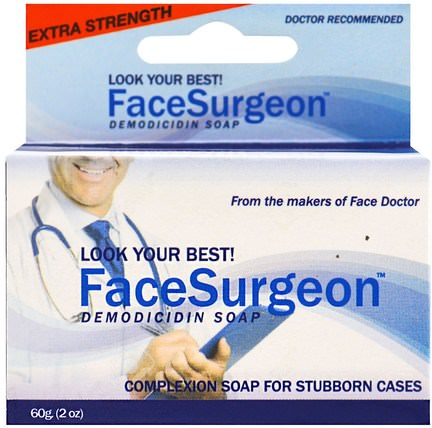 Face Surgeon, Medicated Soap, 2 oz (60 g) by Face Doctor, 洗澡,美容,肥皂 HK 香港