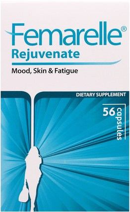 Rejuvenate, 56 Capsules by Femarelle, 健康,抗壓情緒支持 HK 香港
