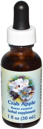 Crab Apple, Flower Essence, 1 fl oz (30 ml) by Flower Essence Services, 健康 HK 香港