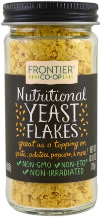 Nutritional Yeast Flakes, 0.81 oz (23 g) by Frontier Natural Products, 食品,烘焙助劑,啤酒酵母 HK 香港