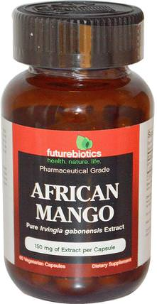FutureBiotics, African Mango, 150 mg, 60 Veggie Caps 健康,飲食,減肥,irvingia gabonensis(非洲芒果)