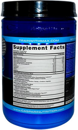 SuperPump Max, Blue Raspberry Ice, 1.41 lbs (640 g) by Gaspari Nutrition, 運動,肌肉 HK 香港