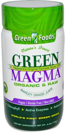 Green Magma, Barley Grass Juice, 500 mg, 250 Tablets by Green Foods Corporation, 補品,超級食品,大麥草 HK 香港
