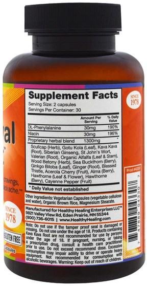 健康,焦慮,藥物濫用,成癮 - Crystal Star, Withdrawal Support, 60 Veggie Caps