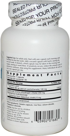 健康,注意力缺陷障礙,添加,adhd,大腦,記憶 - Life Enhancement, GalantaMind, 90 Capsules