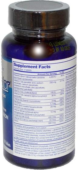 健康,注意力缺陷障礙,添加,adhd,腦,長春西汀,記憶 - Focus Factor, Nutrition For The Brain, 60 Tablets