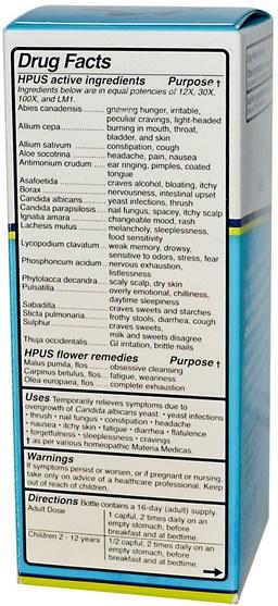 健康,念珠菌 - Aqua Flora, Candida, High Potency 9, 8 fl oz (236 ml)