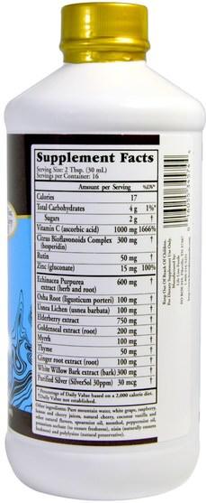 健康,感冒流感和病毒,免疫系統,埋藏的寶藏功能特定和季節性 - Buried Treasure, Liquid Nutrients, ACF Fast Relief, Immune Support, 16 fl oz (473 ml)