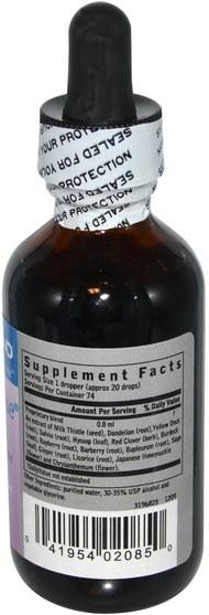 健康,排毒 - Zand, Thistle Cleanse Formula, 2 fl oz (59 ml)