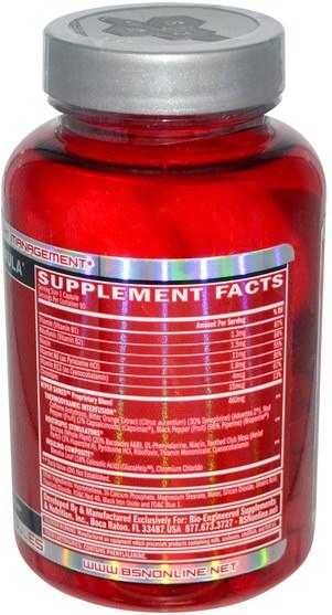 健康,能量,減肥,飲食,脂肪燃燒器 - BSN, Hyper Shred, Thermodynamic Metabolic Activator, 90 Capsules