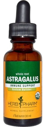 Astragalus, 1 fl oz (30 ml) by Herb Pharm, 健康,感冒和病毒,黃芪,補品,adaptogen HK 香港