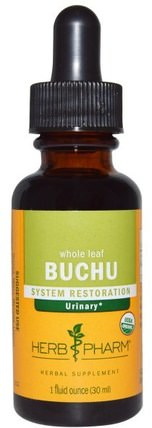 Buchu, Whole Leaf, 1 fl oz (30 ml) by Herb Pharm, 草藥,buchu HK 香港