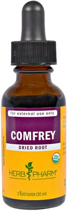 Comfrey, 1 fl oz (30 ml) by Herb Pharm, 草藥,紫草 HK 香港