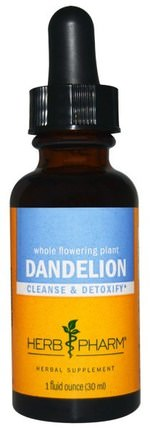 Dandelion, 1 fl oz (30 ml) by Herb Pharm, 草藥,蒲公英根 HK 香港