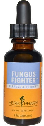 Fungus Fighter, 1 fl oz (30 ml) by Herb Pharm, 健康 HK 香港