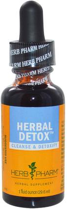 Herb Pharm, Herbal Detox, 1 fl oz (29.6 ml) 健康,排毒