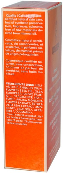 草藥,山金車蒙大拿,皮膚,按摩油 - Weleda, Arnica Massage Oil, 100 ml (3.4 fl oz)