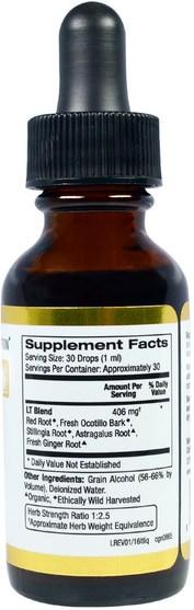 草藥,草藥 - California Gold Nutrition, CGN, Lymph Tonique, 1 fl oz (30 ml)