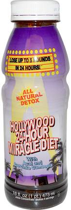 Hollywood 24 Hour Miracle Diet, 16 fl oz (473 ml) by Hollywood Diet, 健康,飲食 HK 香港