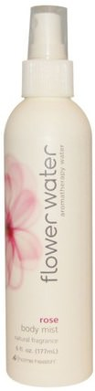 Flower Water, Body Mist, Rose, 6 fl oz (177 ml) by Home Health, 沐浴,美容,個人衛生,香水噴霧 HK 香港