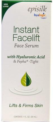 1 fl oz (30 ml) by Hyalogic Instant Facelift Serum, 健康,皮膚精華,美容,透明質酸皮膚 HK 香港