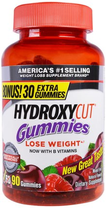 Gummies, Mixed Fruit, 90 Gummies by Hydroxycut, 減肥,飲食 HK 香港