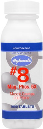 #8 Mag. Phos. 6X, 1000 Tablets by Hylands, 健康,抗疼 HK 香港