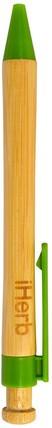 Promotional Bamboo Ballpoint Pen by iHerb Goods, 家 HK 香港