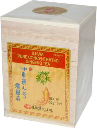 Pure Concentrated Ginseng Tea, 1.7 oz (50 g) by Ilhwa, 食品,涼茶,人參茶,補品,adaptogen HK 香港
