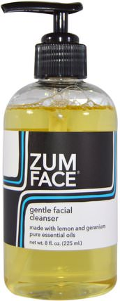 Zum Face, Gentle Facial Cleanser, 8 fl oz (225 ml) by Indigo Wild, 美容,面部護理,洗面奶 HK 香港