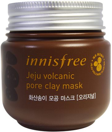Jeju Volcanic Pore Clay Mask, 100 ml by Innisfree, 美容,面膜,泥面膜,浴 HK 香港