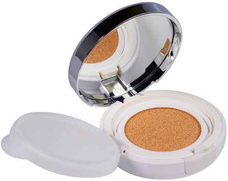 Iope, Air Cushion XP C21, SPF 50+, Cover Vanilla, with Refill, 2 - 15 g Each 洗澡,美容,化妝,液體化妝