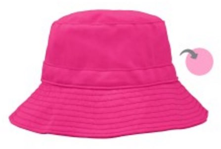 9-18 Months, Hot Pink/Light Pink by iPlay Reversible Bucket Hat, 兒童健康,嬰兒,兒童,iplay太陽鏡 HK 香港