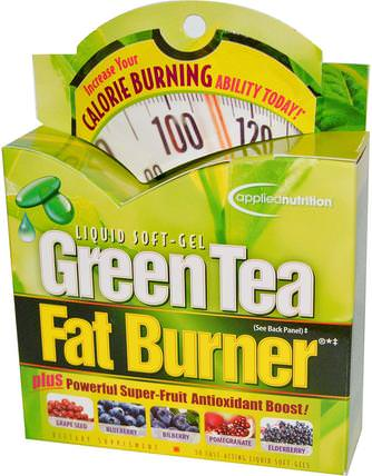 Green Tea Fat Burner, 30 Fast-Acting Liquid Soft-Gels by Irwin Naturals, 健康,飲食,減肥,脂肪燃燒器 HK 香港