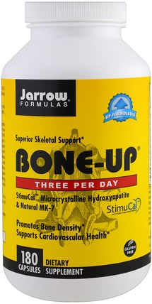 Bone-Up, 180 Capsules by Jarrow Formulas, 健康,骨骼,骨質疏鬆症 HK 香港