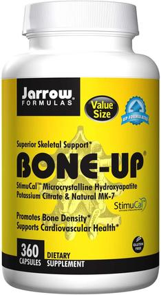 Bone-Up, 360 Capsules by Jarrow Formulas, 補品,礦物質,鈣,健康,骨骼 HK 香港