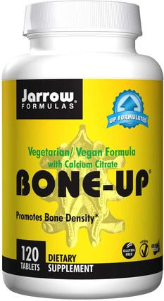 Bone-Up, Vegetarian/Vegan Formula, With Calcium Citrate, 120 Tablets by Jarrow Formulas, 維生素,維生素D3,礦物質,鈣 HK 香港