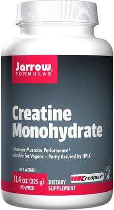 Creatine Monohydrate, Powder, 11.4 oz (325 g) by Jarrow Formulas, 運動,肌酸粉 HK 香港