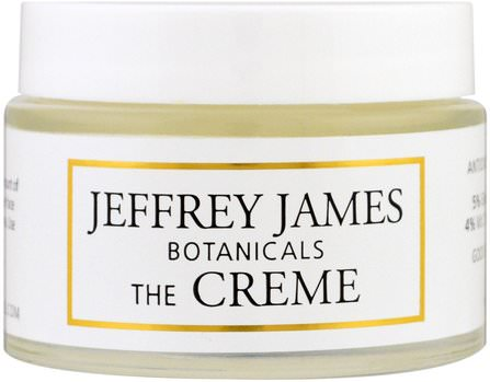 The Creme, All Day & All Night, 2.0 oz (59 ml) by Jeffrey James Botanicals, 美容,面部護理 HK 香港