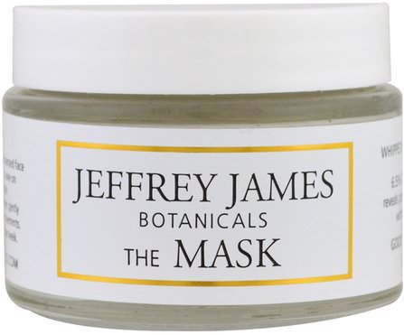 The Mask, Whipped Raspberry Mud Mask, 2.0 oz (59 ml) by Jeffrey James Botanicals, 美容,面部護理,皮膚類型抗衰老皮膚,面膜,粘土面膜 HK 香港