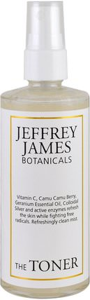The Toner, Refreshingly Clean Mist, 4.0 oz (118 ml) by Jeffrey James Botanicals, 美容,面部護理 HK 香港