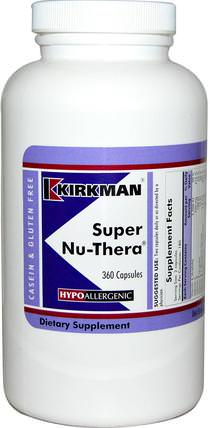 Super Nu-Thera, 360 Capsules by Kirkman Labs, 維生素,多種維生素 HK 香港
