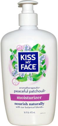 Moisturizer, Peaceful Patchouli, 16 fl oz (473 ml) by Kiss My Face, 洗澡,美容,潤膚露,身體護理 HK 香港