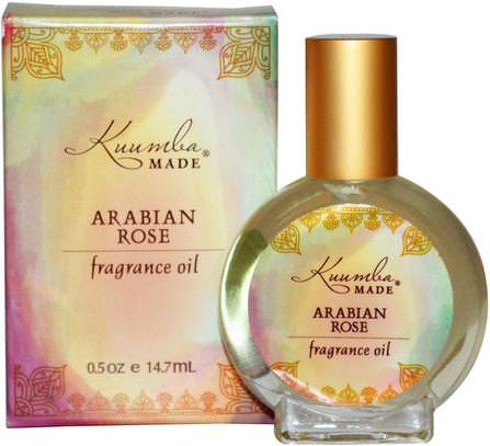 Fragrance Oil, Arabian Rose, 0.5 oz (14.7 ml) by Kuumba Made, 洗澡,美容,香水噴霧 HK 香港