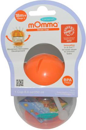 mOmma, Straw Cup, 1 Cup, 8.4 oz (250 ml) by Lansinoh, 兒童健康,兒童食品,廚具,杯碟碗 HK 香港