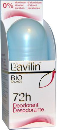 72h Deodorant, 2.1 oz (60 ml) by Lavilin, 洗澡,美容,除臭劑 HK 香港