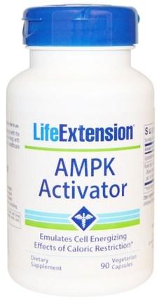 Life Extension, AMPK Activator, 90 Veggie Caps 補品,酶,健康