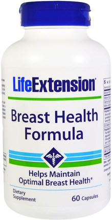 Breast Health Formula, 60 Capsules by Life Extension, 健康,女性 HK 香港