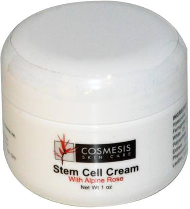 Cosmesis Skin Care, Stem Cell Cream, With Alphine Rose, 1 oz by Life Extension, 美容,面部護理,面霜,乳液 HK 香港
