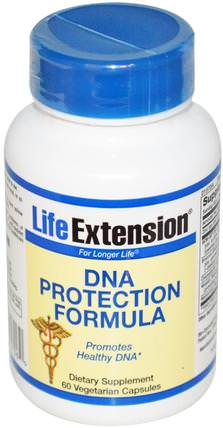 DNA Protection Formula, 60 Veggie Caps by Life Extension, 健康 HK 香港
